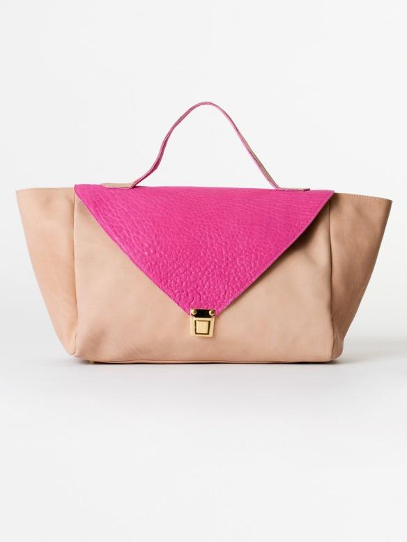 sac enveloppe rose