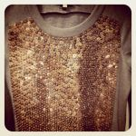 sweat sequins Claudie Pierlot